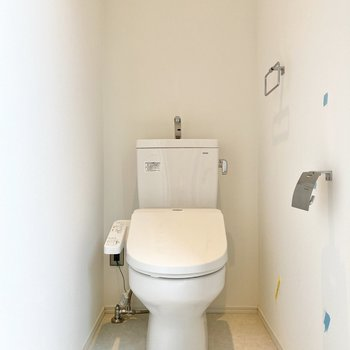 トイレは1階にあります。