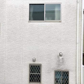 【サンルーム】窓からの眺望です。