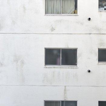 小窓からの眺望です。