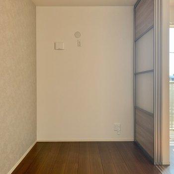 洋室にはエアコン設置可能です。