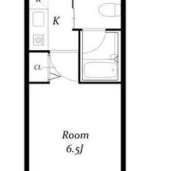 学生さんや単身の方向けの、一人暮らし用のお部屋です。
