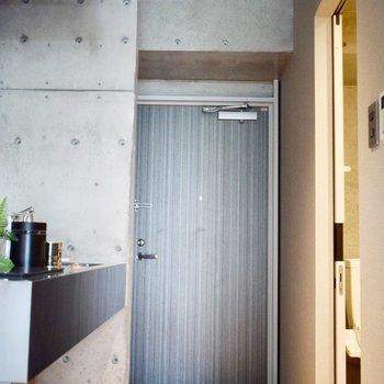 シューズボックスはないのでご用意ください。 ※写真は3階の同間取り別室のものです。