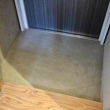 おひとりさまサイズです。 ※写真は3階の同間取り別室のものです。