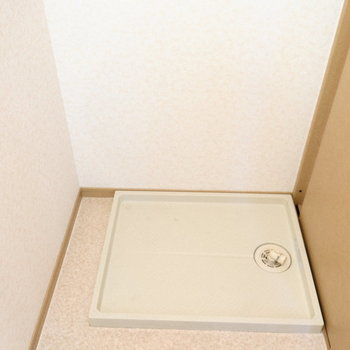 洗濯パンは脱衣所にあります◎(※写真は5階の反転間取り別部屋のものです)