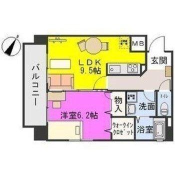 1フロア2戸の部屋!