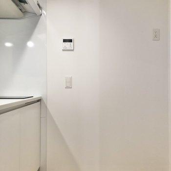 【LDK】キッチンの内側もゆったりと。