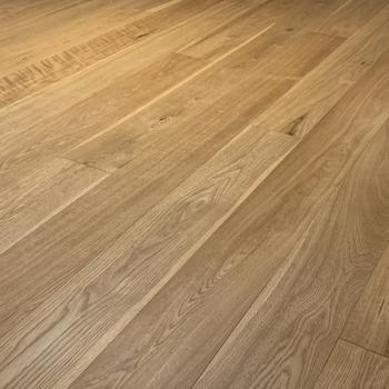 【カスタマイズ4-3】床材を選ぶ(リビング部分 / 無垢オーク材)※画像はイメージになります