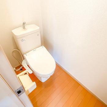 さらに、トイレはウォシュレット付き。あったら嬉しい機能が揃っているんです。