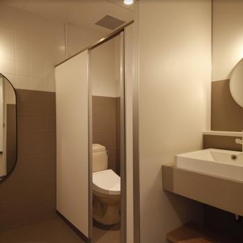 共用トイレもこんなに素敵・・!