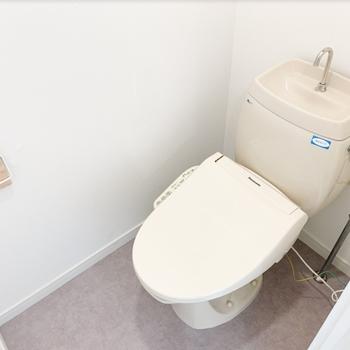 トイレはウォシュレット付きに。