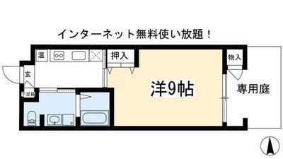 Mur Kamogawaの間取り