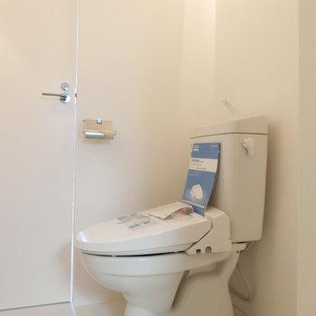 ウォシュレット付トイレ ※写真前回募集時のものです