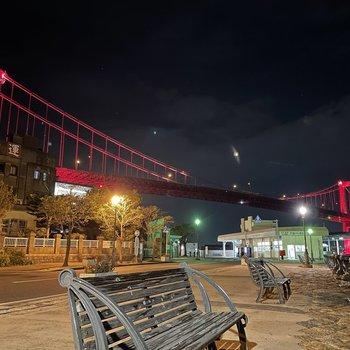 若戸大橋の夜景も有名ですね。これは絶景!