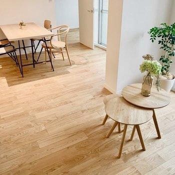 【イメージ画像】こちらの床材はヤマグリ材。お好みのものからぜひお選びください!