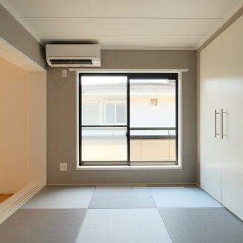 【カスタマイズ7-3】グレードアップを選ぶ(琉球畳和室+ウォークイン収納)