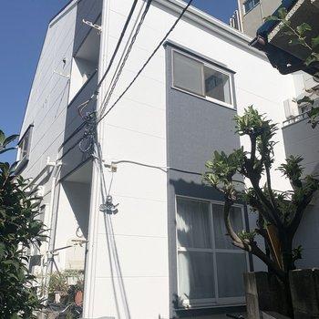 2階建てのアパートになります。