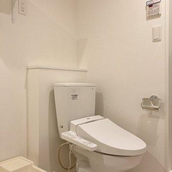 トイレが同室な点にご注意下さい。