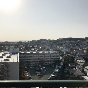 いい眺めだ〜〜〜〜!