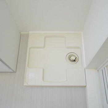 お風呂のすぐ横なので楽ちん。※写真は2階反転間取りのもの