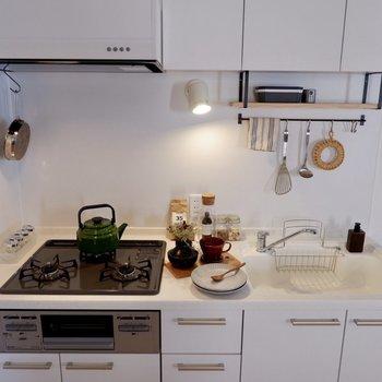 【イメージ】人工大理石の特別なキッチンです。