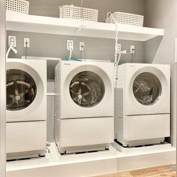 6階共用部】乾燥機能付きなのはうれしいポイント!