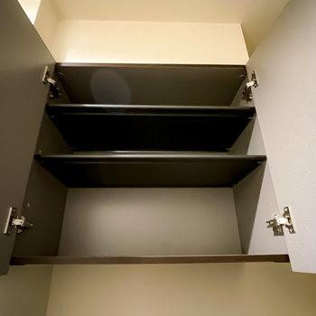 上はザックリとした棚です。