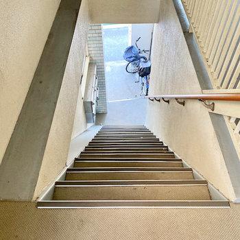 内覧時に階段の幅なども実際にお確かめください。