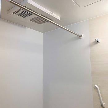 浴室乾燥もできます※写真は同間取り別部屋のもの