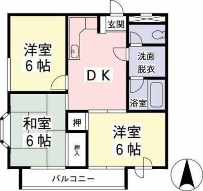 ヤマト永山ハウスの間取り