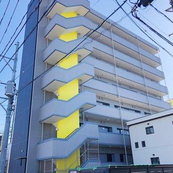 8階建ての4階のお部屋です。