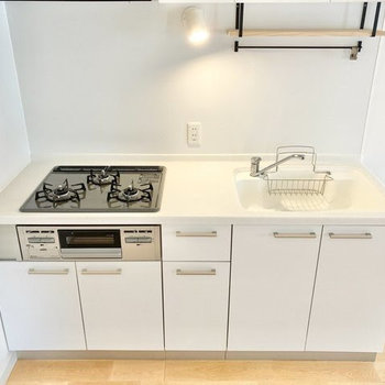 【イメージ】お料理も、その後のお掃除も楽しくなっちゃうキッチン。