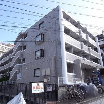 立派なマンションですね。