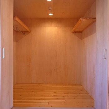 WICは「部屋」と呼べそうな広さでびっくり!