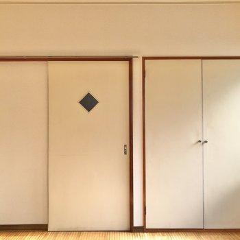 【洋室】収納も用意されていますよ。
