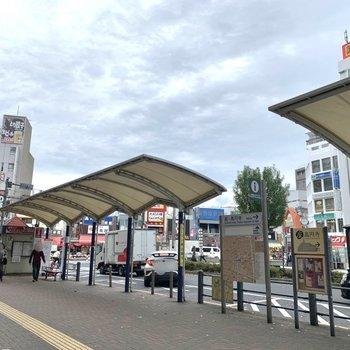 バラエティ豊かな飲食店や商店街で賑わっています。