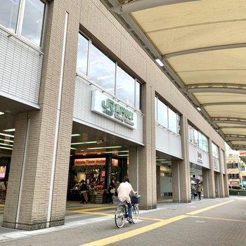 高円寺駅は北口が近いです。