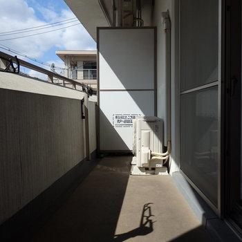日当たりも◎(※写真は2階の同間取り別部屋、モデルルームのものです)