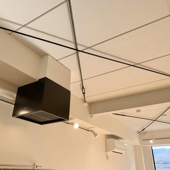 天井もセンスの塊です。