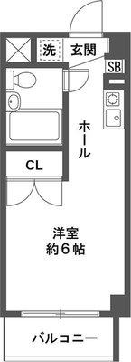 ONE's RESIDENCE立川錦町の間取り
