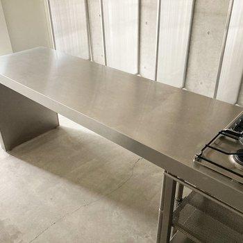 【LDK】作業台はテーブルにもなります。