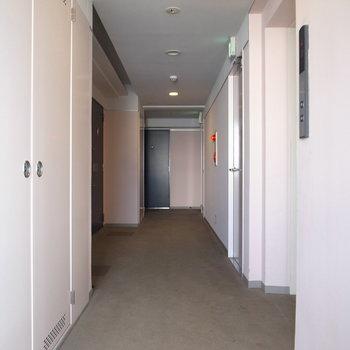 【共有部】廊下は完全屋内です。