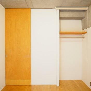 扉を閉めると7帖の洋室に。(※写真は3階の同間取り別部屋のものです)