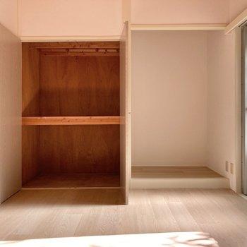 【6.5帖】大きな収納!◎床の間も残っているので味のある空間に。