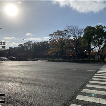 福岡のオアシス大濠公園もすぐそこに・・!街歩きが楽しいエリアです。