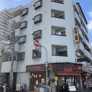 阪急京都線「十三駅」から徒歩6分の立地