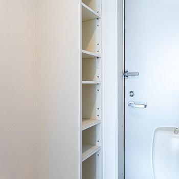 可動式の靴箱。長靴やブーツも収納できます。※写真は同間取り別部屋のものです