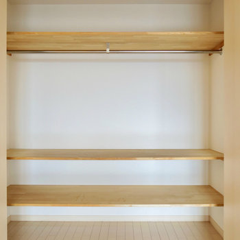 収納もたっぷり◎ ※写真は4階同間取り・別部屋のものです。