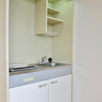 キッチンが!IHでお手入れも楽ちん ※写真は4階同間取り・別部屋のものです。
