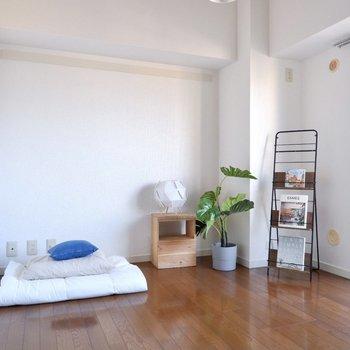 【洋室4.8帖】寝室や書斎に良いですね。