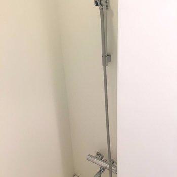 さっと済ませたい人にはオススメのシャワールーム。※写真は3階の同間取り別部屋のものです